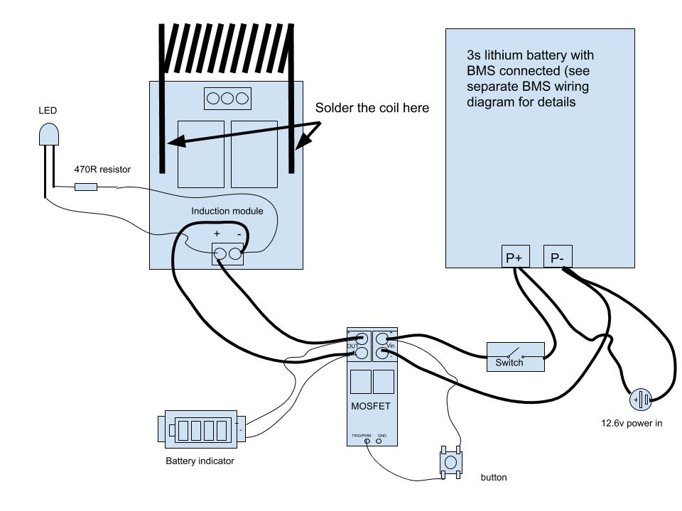 [SCHEMATICS_4US]  Battery Powered Induction Heater Wiring Diagram • VapOven | Induction Coil Wiring Diagram |  | VapOven